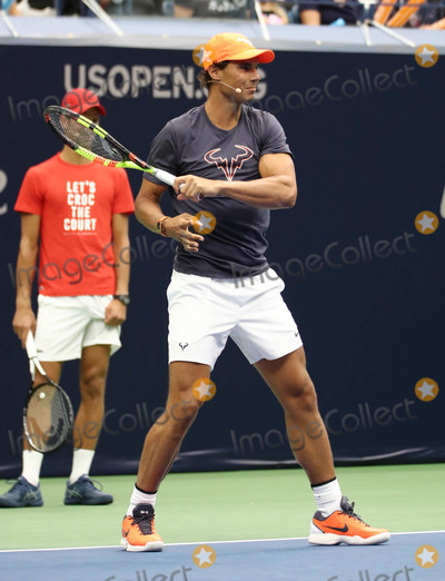 Rafael Nadal Photo - Photo by John NacionstarmaxinccomSTAR MAX2018ALL RIGHTS RESERVEDTelephoneFax (212) 995-119682518Rafael Nadal at the 2018 Arthur Ashe Kids Day in New Yor City