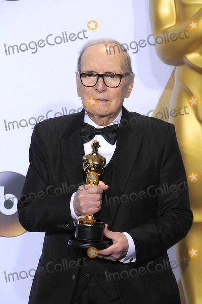 Ennio Morricone Photo - Photo by GLXstarmaxinccomSTAR MAXCopyright 2016ALL RIGHTS RESERVEDTelephoneFax (212) 995-119622816Ennio Morricone at the 88th Annual Academy Awards (Oscars)(Hollywood CA USA)