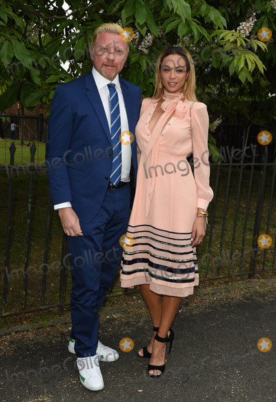 Boris Becker Photo - Photo by KGC-03starmaxinccomSTAR MAX2016ALL RIGHTS RESERVEDTelephoneFax (212) 995-11967616Boris Becker and Lilly Becker at The Serpentine Gallery Summer Party(London England)