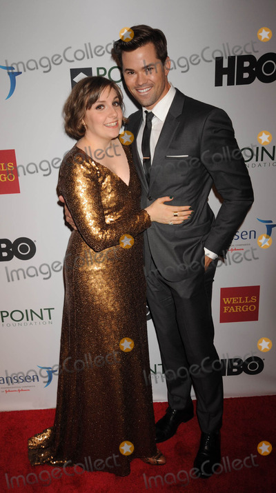 Lena Dunham Photo - Photo by Demis MaryannakisstarmaxinccomSTAR MAX2014ALL RIGHTS RESERVEDTelephoneFax (212) 995-11964714Lena Dunham and Andrew Rannells at The Point Foundation Gala(NYC)