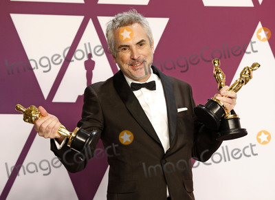 Alfonso Cuaron Photo - Photo by REWestcomstarmaxinccomSTAR MAXCopyright 2019ALL RIGHTS RESERVEDTelephoneFax (212) 995-119622419Alfonso Cuaron winner of the Best Director Award Best Foreign Film Award and Best Cinematography Award for Roma at the 91st Annual Academy Awards (Oscars) presented by the Academy of Motion Picture Arts and Sciences(Hollywood CA USA)