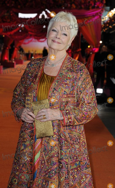 Judi Dench Photo - Photo by KGC-42starmaxinccomSTAR MAX2015ALL RIGHTS RESERVEDTelephoneFax (212) 995-119621715Dame Judi Dench at the Royal Film Performance world premiere of The Second Best Exotic Marigold Hotel(London England UK)