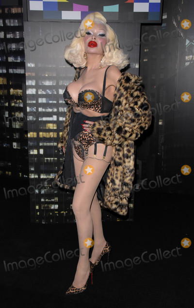 Amanda Lepore Photo - Photo by Patricia SchleinstarmaxinccomSTAR MAX2018ALL RIGHTS RESERVEDTelephoneFax (212) 995-1196102418Amanda Lepore at the Moschino x HM event in New York City