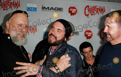 AJ Bowen Photo - HOLLYWOOD CA - SEPTEMBER 15 Actor RA Mihailoff actor AJ Bowen and actor Kane Hodder at the World Premiere of Chillerama at Hollywood Forever Cemetary on September 15 2011  in Hollywood California  (Albert L OrtegaImageCollectcom)