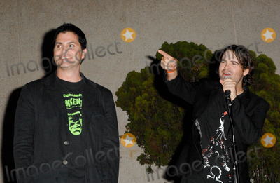 Adam Green Photo - HOLLYWOOD CA - SEPTEMBER 15 Director Adam Green and director Joe Lynch at the World Premiere of Chillerama at Hollywood Forever Cemetary on September 15 2011  in Hollywood California  (Albert L OrtegaImageCollectcom)
