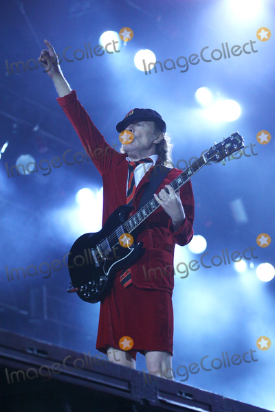 ACDC Photo - Guitar player ANGUS YOUNG ACDC-concert Hamburg Volksparkstadion 26052016