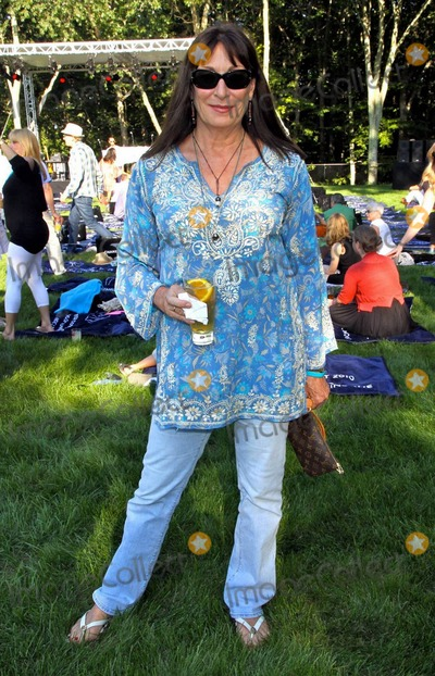 Angelica Huston Photo - Angelica Huston attends Kylie Minogue and Rufus Wainwrights performance at the Watermill Summer Concert Last Song of Summer Watermill NY 82810