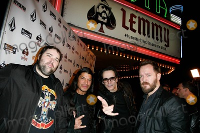 Henry Rollins Photo - (L-R) Director Greg Olliver Mexican-American bassist Robert Trujillo Grammy Award winning guitarist Steve Vai and director Wes Orshoski attend the premiere of LEMMY 49 Motherfker 51 Son Of A Bitch at The Vista Theatre  The documentary which tells the story of bassist Lemmy (aka Ian Kilmister) from the legendary heavy metal band Motorhead directed by Greg Olliver and Wes Orshoski took more than three years to film edit and release  Highly anticipated by diehard Motorhead fans the film includes interviews with Ozzy Osbourne Slash and Henry Rollins to name a few Los Angeles CA 011311