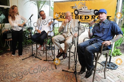Daisy Lewis Photo - Daisy Lewis Co-Chair of CoConut merchant group Stephen Licata City Miami Mayor Tomas Regalado and Vanilla Ice attend a press conference for the third Annual The Great Grove Bed Race held Coconut Grove in the Peacock Garden Cafe Miami FL 30th August 2011