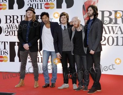 The Temper Trap Photo - The Temper Trap at the Brit Awards held at the O2 Arena London UK 21511