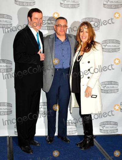 John Gotti Photo - John Travolta John Gotti Jr and Kelly Preston at the Gotti press conference at the Sheraton New York Hotel and Towers New York NY 41211