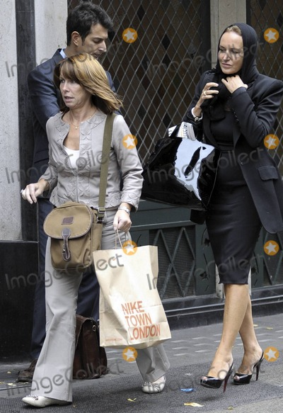 Tony Blair Photo - Sky TVs Kay Burley carries along her purchases from Niketown London during a day of shopping Its reported that lawyers have asked that Burley remove details in her new fictional book regarding three women in the life of a prime minister The book First Ladies due out next year tells the story of a suave prime minister who bears a remarkable resemblance to Tony Blair and three formidable women united in their love of one man (who just happens to be the prime minister) but soon set on a path of revenge According to the reports Burley who has said readers will certainly recognize the three women in my novel has been asked to remove andor revise certain details which could identify individuals London UK 91310