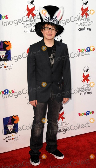 Angus T Jones Photo - Angus T Jones at the 17th Annual Dream Halloween to benefit the Children Affected by Aids Foundation (CAAF) presented by Mattel and Toys R Us at Barker Hanger in Santa Monica CA 103010