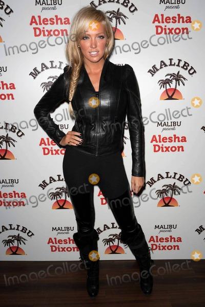 Aisleyne Horgan-Wallace Photo - Aisleyne Horgan-Wallace appears at the Malibu Presents Alesha Dixon party held at The Studio Valbonne London UK 111210