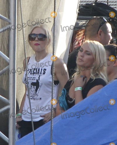 Adored Photo - EXCLUSIVE  Gwen Stefani watches husband Gavin Rossdales band Bush perform at the 4th Annual Sunset Strip Music Festival yesterday  Along for the fun watching dad onstage wearing kid-friendly noise-canceling headphones was Gwen and Gavins adorable son Zuma Nesta who turns 3 years old today  Los Angeles CA 21st August 2011Fees must be agreed prior to publication