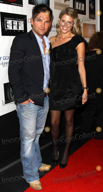 Sarah Wright Photo - Brian Presley and Sarah Wright pose on the red carpet at the AFM Blowout Party hosted by Cheetah Vision Hannibal PicturesHannibal Classics and EmmettFurla Films held at Pier59 Studios in Santa Monica Los Angeles CA 110510