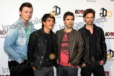 ACDC Photo - Stereophonics band members Adam Zindani Javier Weyler Kelly Jones and Richard Jones at the ACDC Live at River Plate DVD World Premiere at the HMV Hammersmith Apollo London UK 5611