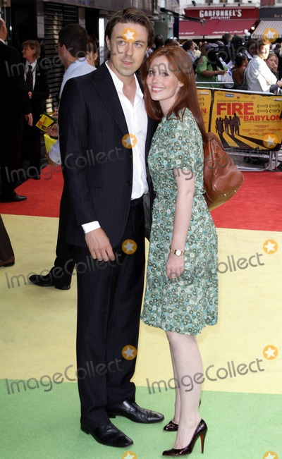 andrew buchan Photo - Andrew Buchan and Amy Nutall at the European premiere of Fire in Babylon at Odeon Leicester Square London UK 5911