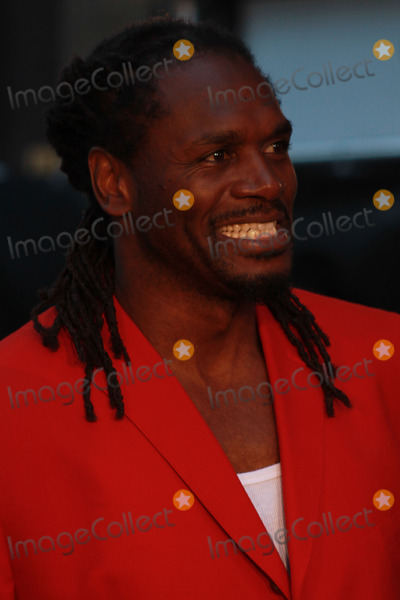 Audley Harrison Photo - Audley Harrison Arriving at Screening at Empire Cinema Leicester Square LONDON - SEPTEMBER 17