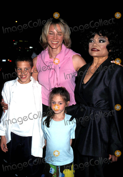 Cinderella Photo - Cinderella Oopening Night Party at One 51 New York City 05032001 Eartha Kitt with Daughter Kitt Shapiro and Grandchild Photo by Henry McgeeGlobe Photos Earthakittretro