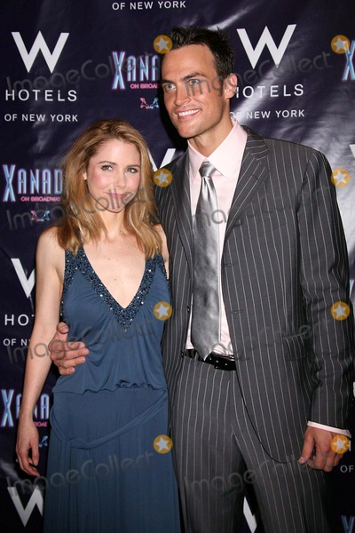 Curtis Holbrook Photo - Kerry Butler and Cheyenne Jackson at the Opening Night Party For Xanadu at Providence in New York City on July 10 2007 Photo by Henry McgeeGlobe Photos Inc 2007