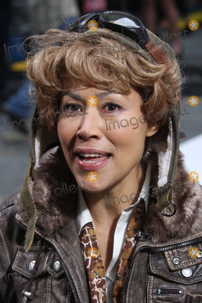 Amelia Earhart Photo - New York NY 10-29-2010Ann Curry (dressed as Amelia Earhart) on NBCs TODAY Show annual Halloween celebration outside on Rockefeller PlazaDigital photo by Lane Ericcson-PHOTOlinknet