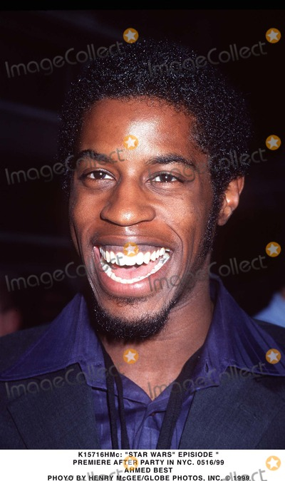 Ahmed Best Photo - 051699 Star Wars Episode Premiere After Party in NYC Ahmed Best Photo by Henry McgeeGlobe Photos Inc