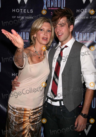Curtis Holbrook Photo - Olivia Newton-john and Curtis Holbrook at the Opening Night Party For Xanadu at Providence in New York City on July 10 2007 Photo by Henry McgeeGlobe Photos Inc 2007