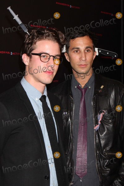 Henry Joost Photo - Directors Henry Joost and Ariel Schulman Arriving at a Super Fan Screening of Paranormal Activity 3 at Regal Union Square Stadium 14 in New York City on 10-18-2011 Photo by Henry Mcgee-Globe Photos Inc 2011