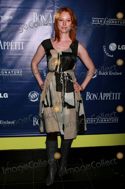 Alicia Witt Photo - Alicia Witt Arriving at the Post-screening Dinner Party to Celebrate the Focus Features Film the Kite Runner at Bon Appetit Supper Club in New York City on 10-29-2007 Photo by Henry McgeeGlobe Photos Inc 2007