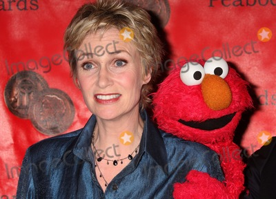 Elmo Photo - New York NY 05-17-2010Jane Lynch and Sesame Streets Elmo at the 69th Annual Peabody Awards at the Waldorf-AstoriaDigital photo by Lane Ericcson-PHOTOlinknet