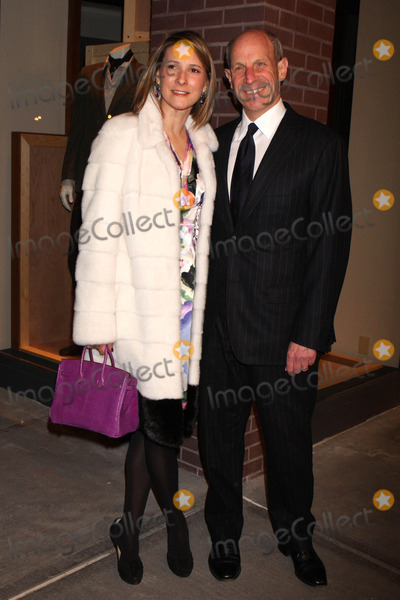 Jonathan Tisch Photo - Lizzie Tisch and Jonathan Tisch Arriving at the Opening of the First Hermes Mens Store in New York City on 02-09-2010 Photo by Henry Mcgee-Globe Photos Inc 2010