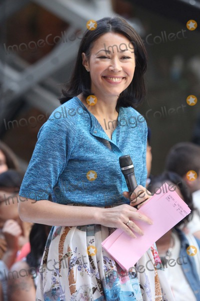 ANNE CURRY Photo - Ann Curry on Nbcs Today Show Summer Concert Series at Rockefeller Plaza in New York City on 06-08-2012 Photo by Henry Mcgee-Globe Photos Inc 2012