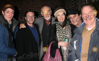 Sean Connery Photo - New York NY 03-07-2008Sean Connery and wife Micheline Roquebrune-Connery visit backstage with Michael McKean Ian McShane Raul Esparza and Gareth Saxe after performance of Harold Pinters The Homecoming at The Cort TheatreDigital photo by Lane Ericcson-PHOTOlinknet