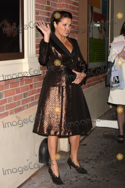 Anna Netrebko Photo - Opera Singer Anna Netrebko Arriving at the Opening Night Performance of Lincoln Centers Production of Women on the Verge of a Nervous Breakdown at the Belasco Theatre in New York City on 11-04-2010 Photo by Henry Mcgee-Globe Photos Inc 2010