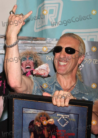 Dee Snider Photo - DEE SNIDER of TWISTED SISTER with RIAA certified Gold plaque for the single Were Not Gonna Take It and celebrates the release of the 25th Anniversary Edition of Stay Hungry at JR Music World in New York City on 06-30-2009  Photo by Henry McGee-Globe Photos Inc 2009K59589HMc