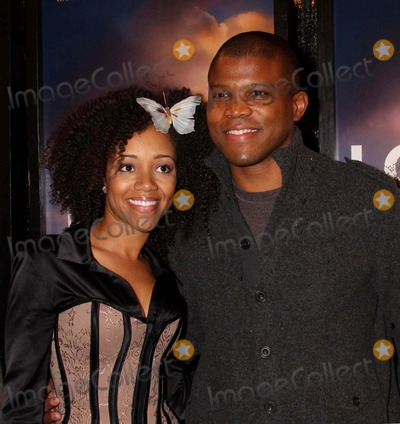 Chrystee Pharris Photo - Chrystee Pharris and Sharif Atkins Arriving at a Screening of the Lovely Bones at the Paris Theater in New York City on 12-02-2009 Photo by Henry Mcgee-Globe Photos Inc 2009