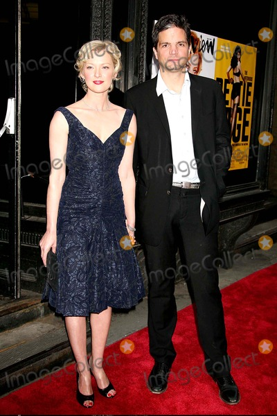 Bettie Page Photo - Gretchen Mol and Tod Williams Arriving at the Premiere of the Notorious Bettie Page at Amc Loews 19th Street East in New York City on 04-10-2006 Photo by Henry McgeeGlobe Photos Inc 2006