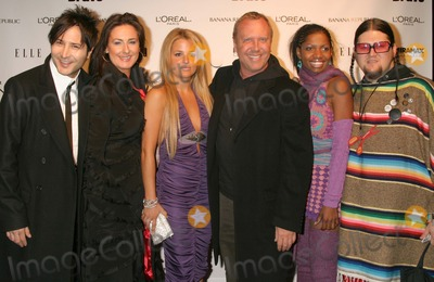 Alexandra Vidal Photo - New York NY  11-30-2004Michael Kors with Daniel Franco Vanessa aka the Brit Alexandra Vidal Kara aka the Professional and Jay McCarroll (Project Runway contestants) attend the party celebrating the launch of the new Bravo series Project Runway at PM LoungeDigital Photo by Lane Ericcson-PHOTOlinkorg