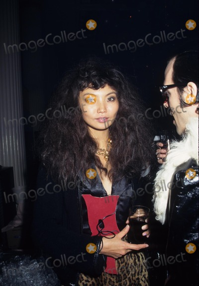 David LaChapelle Photo - Irina Pantaeva David Lachapelles Book Party Lachapelle Land at Waldorf Astoria New York 1996 K6763hmc Photo by Henry Mcgee-Globe Photos Inc