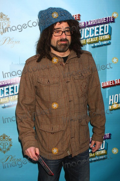Al Hirschfeld Photo - Adam Duritz Arriving at the Opening Night Performance of How to Succeed in Business Without Really Trying at the Al Hirschfeld Theatre in New York City on 03-27-2011 photo by Henry Mcgee-globe Photos Inc 2011