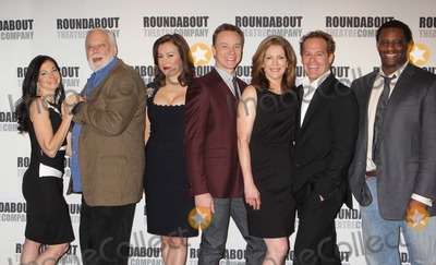 Adam James Photo - Spencer Kayden John Tillinger Jennifer Tilly Ben Daniels Patricia Kalember Adam James and David Aron Damane Attend a Press Junket with the Stars of Roundabout Theatre Companys dont Dress For Dinner at the American Airlines Theatre in New York City on March 15 2012 Photo by Henry Mcgee-Globe Photos Inc 2012