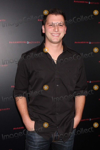 ALBIE MANZO Photo - Albie Manzo From Bravos the Real Housewives of New Jersey Arriving at a Super Fan Screening of Paranormal Activity 3 at Regal Union Square Stadium 14 in New York City on 10-18-2011 Photo by Henry Mcgee-Globe Photos Inc 2011