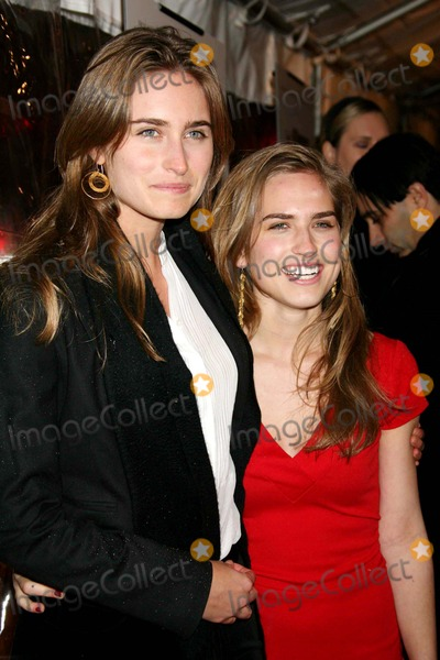 Ashley Bush Photo - Lauren Bush and Ashley Bush Arriving at the Premiere of Breaking and Entering at the Paris Theater in New York City on 01-18-2007 Photo by Henry McgeeGlobe Photos Inc 2007