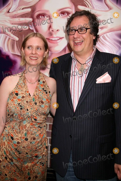 Douglas Carter Beane Photo - Cynthia Nixon and Douglas Carter Beane Arriving at the Opening Night Performance of Xanadu at the Helen Hayes Theatre in New York City on July 10 2007 Photo by Henry McgeeGlobe Photos Inc 2007