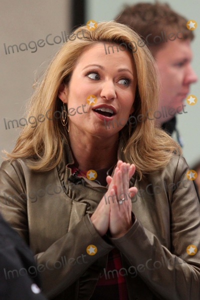 Amy Robach Photo - Amy Robach on Nbcs Today Show at Rockefeller Plaza in New York City on 10-12-2009 Photo by Henry Mcgee-Globe Photos Inc