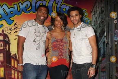 Jason Williams Photo - MONIQUE COLEMAN and friend JASON WILLIAMS visit her High School Musical co-star CORBIN BLEU on stage after seeing his performance in the Broadway musical In The Heights at the Richard Rodgers Theatre in New York City on 03-21-2010  Photo by Henry McGee-Globe Photos Inc 2010K64506HMc