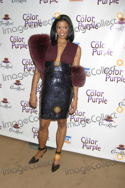 Renee Goldsberry Photo - NYC  120105Cast member Renee Elise Goldsberry (plays Nettie) at the opening night party for the new musical THE COLOR PURPLE at the NY Public LibraryDigital Photo by Adam Nemser-PHOTOlinknet