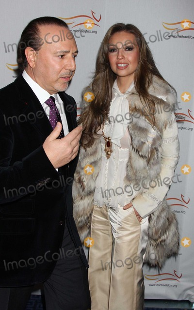 Thalia Mottola Photo - Thalia Tommy Mottola2644JPGNYC  110508Thalia and Tommy Mottola at A Funny ThingHappened On the Way to Cure Parkinsonsto benefit The Michael J Fox Foundation for Parkinsons Research Sheraton New YorkDigital Photo by Adam Nemser-PHOTOlinknetONE-TIME REPRODUCTION RIGHTS ONLYNO WEBSITE USE WITHOUT AGREEMENT