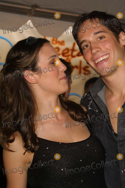 CHEETAHS GIRLS Photo - NYC  080503Christy Carlson Romano and boyfriend at the premiere of the new Disney Channel Original Movie THE CHEETAH GIRLS at LaGuardia High SchoolDigital Photo by Adam NemserPHOTOlink